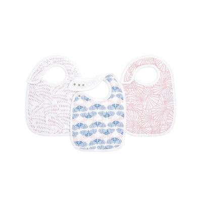 aden + anais Snap Bibs - Deco - 3 Pack-Bibs-Deco- Natural Baby Shower