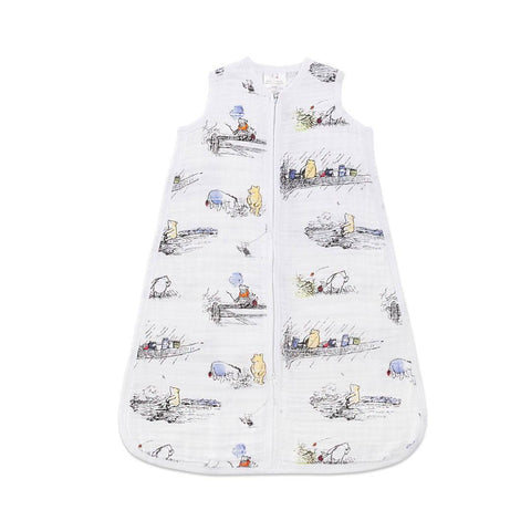 aden + anais Classic Sleeping Bag TOG 1 - Winnie The Pooh-Sleeping Bags- Natural Baby Shower