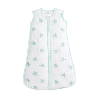 aden + anais Essentials Cozy Plus Sleeping Bag - Stars-Sleeping Bags- Natural Baby Shower