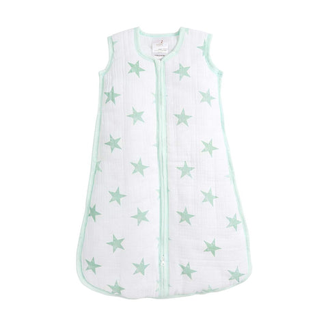 aden by aden + anais Cozy Plus Sleeping Bag - Stars-Sleeping Bags- Natural Baby Shower