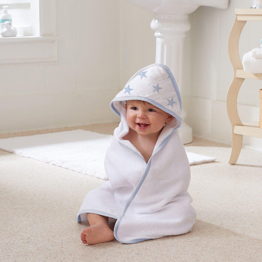 aden by aden + anais Hooded Baby Towel - Dapper-Towels & Robes-Dapper-One Size- Natural Baby Shower