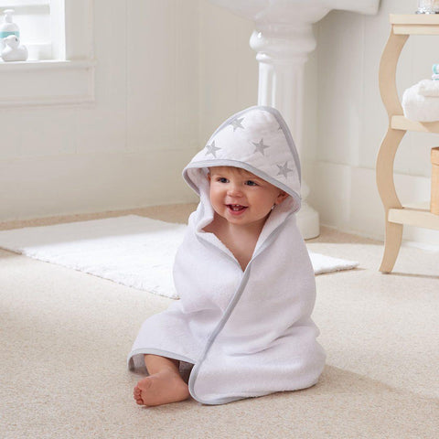 aden by aden + anais Hooded Baby Towel - Dusty-Towels & Robes-Dusty-One Size- Natural Baby Shower