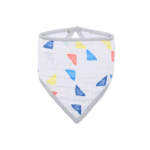 aden + anais Bandana Bib in Leader of The Pack - Triangles
