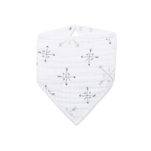 aden + anais Bandana Bib in Lovestruck Love