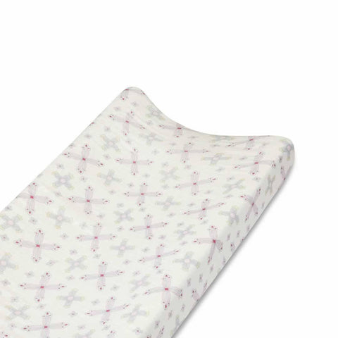 aden + anais Bamboo Changing Mat Cover - Flower Child - Changing Mats & Covers - Natural Baby Shower