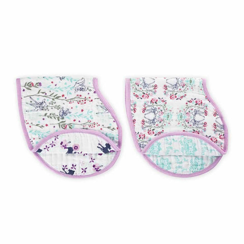 aden + anais Burpy Bibs - Bambi - 2 Pack - Bibs - Natural Baby Shower