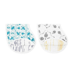 aden + anais Organic Swaddles in Mariposa - 2 Pack