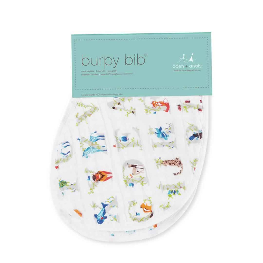 aden + anais Burpy Bibs Paper Tales - 2 Pack