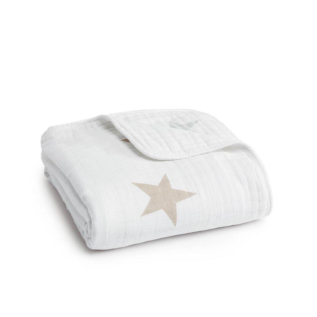 aden + anais Muslin Dream Blanket Super Star Scout