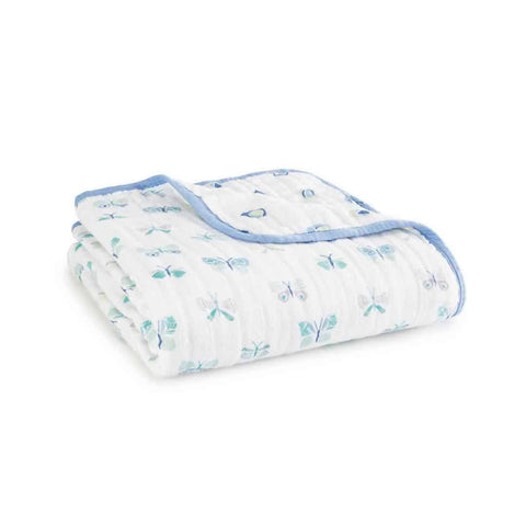 aden + anais Organic Dream Blanket - Mariposa - Blankets - Natural Baby Shower