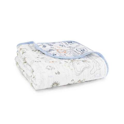 aden + anais Organic Dream Blanket - Warrior Finn - Blankets - Natural Baby Shower