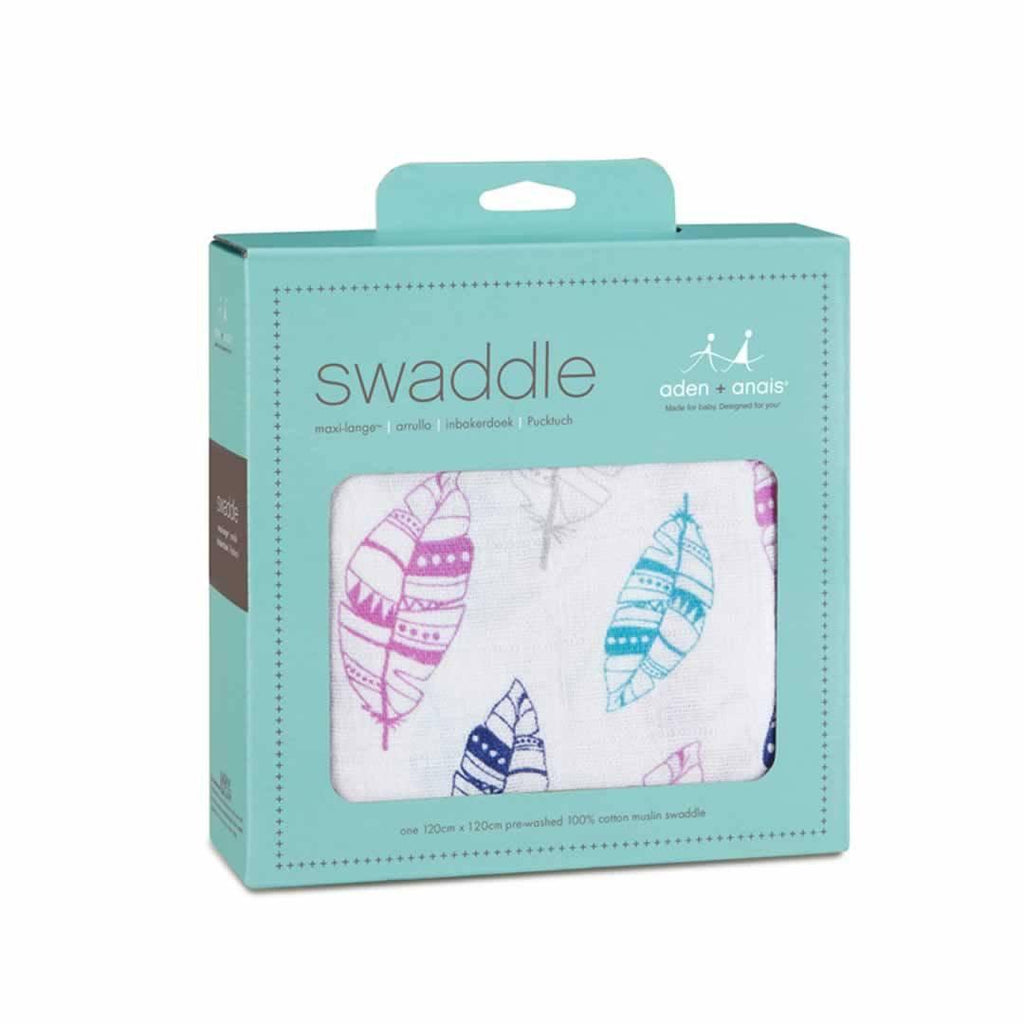 aden + anais Muslin Swaddle Wink