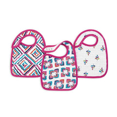 aden + anais Snap Bibs in Flip-Side - 3 Pack