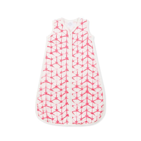 aden + anais Silky Soft Sleeping Bag - Berry Shibori