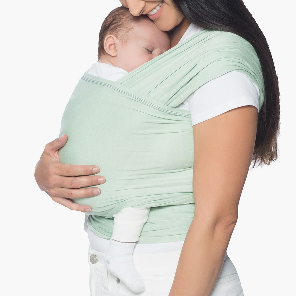 Ergobaby Lightweight Aura Baby Wrap - Sage-Baby Carriers-Sage- Natural Baby Shower