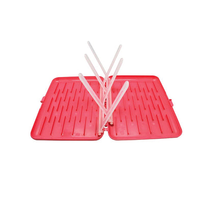 b.box Drying Rack - Raspberry-Drying Racks-Default- Natural Baby Shower