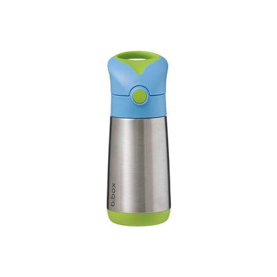 b.box Insulated Drink Bottle - Ocean Breeze-Drinking Bottles-Default- Natural Baby Shower