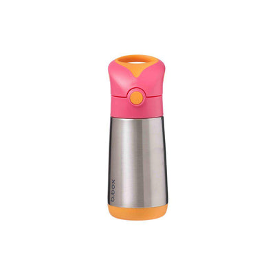 b.box Insulated Drink Bottle - Strawberry Shake-Drinking Bottles-Default- Natural Baby Shower