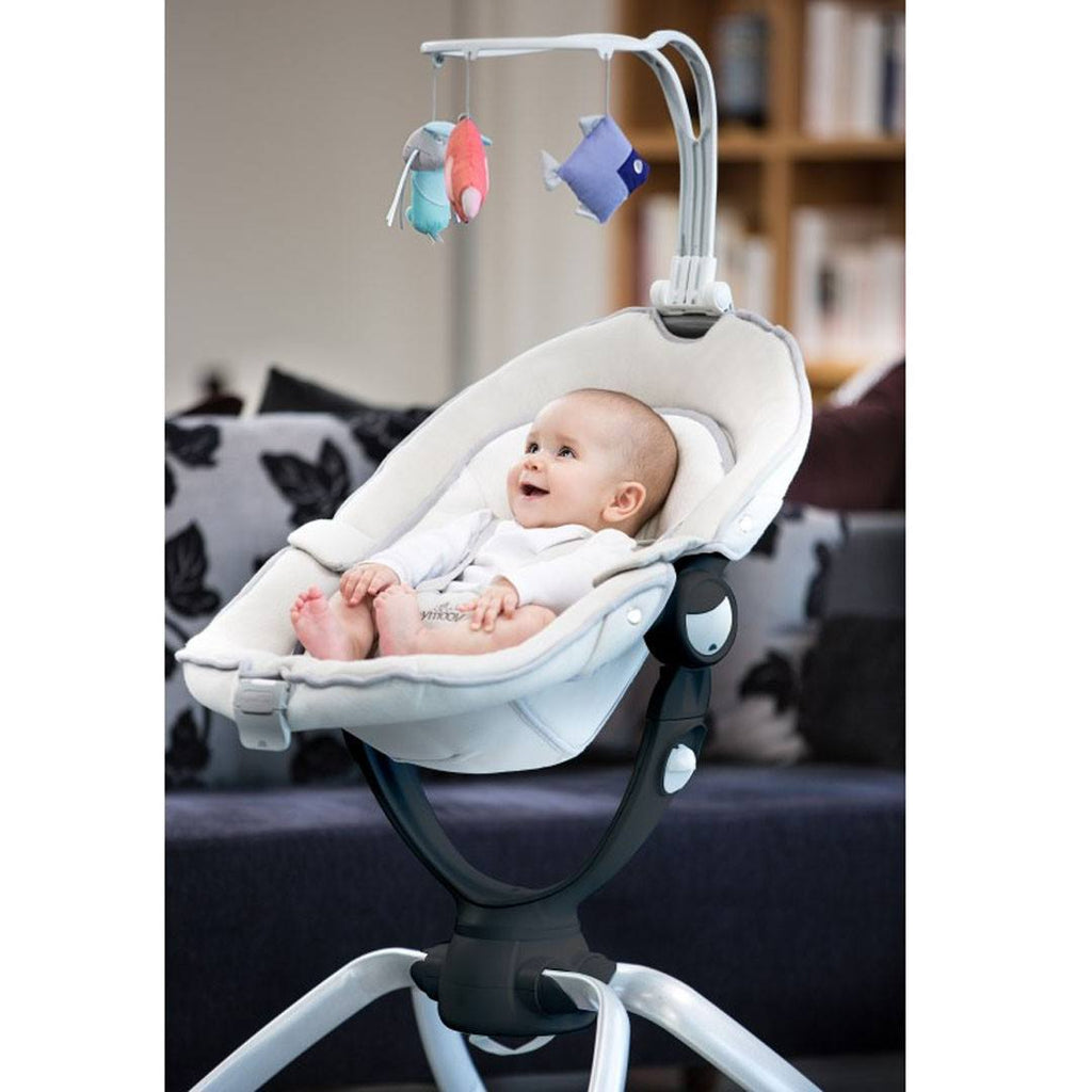 Baby Bouncer - Babymoov Swoon Up Bouncer - Aluminium