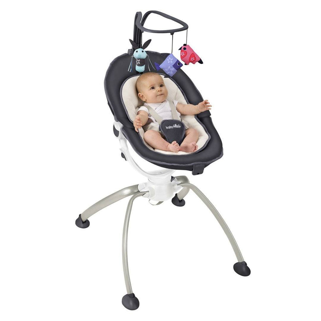 Baby Bouncer - Babymoov Swoon Up Bouncer - Zinc