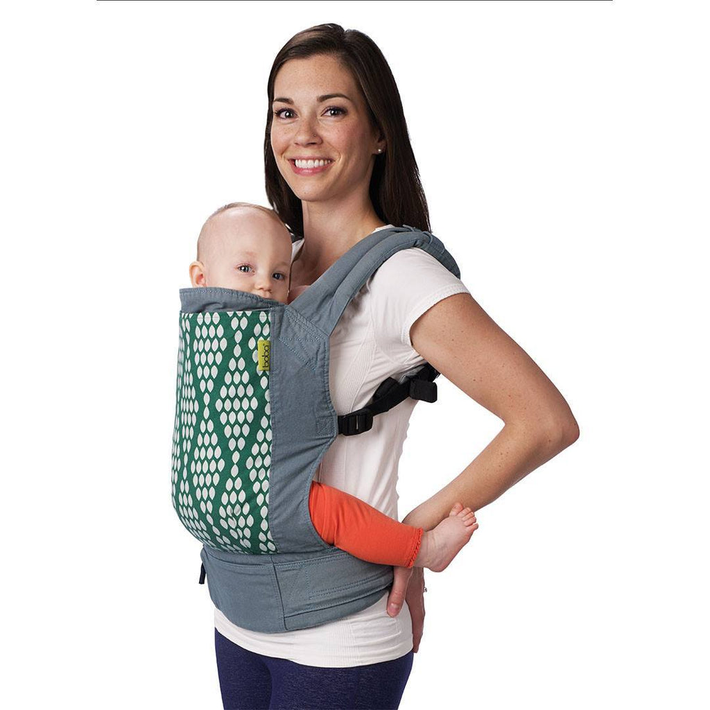 Boba 4G Carrier - Organic Verde-Baby Carriers-Default- Natural Baby Shower