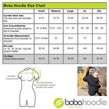 Boba Hoodie - Black-Baby Carriers- Natural Baby Shower