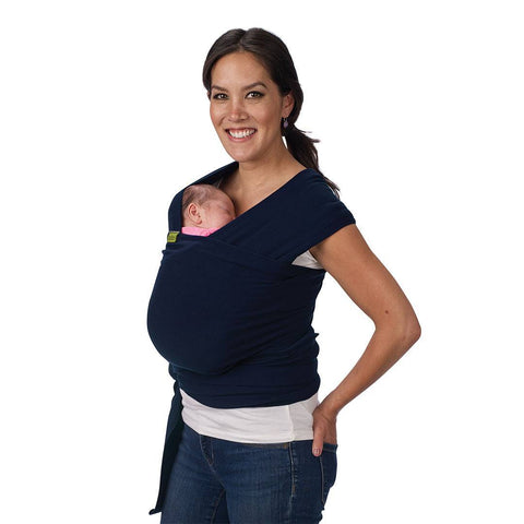 Boba Wrap - Navy Blue-Baby Carriers-Default- Natural Baby Shower
