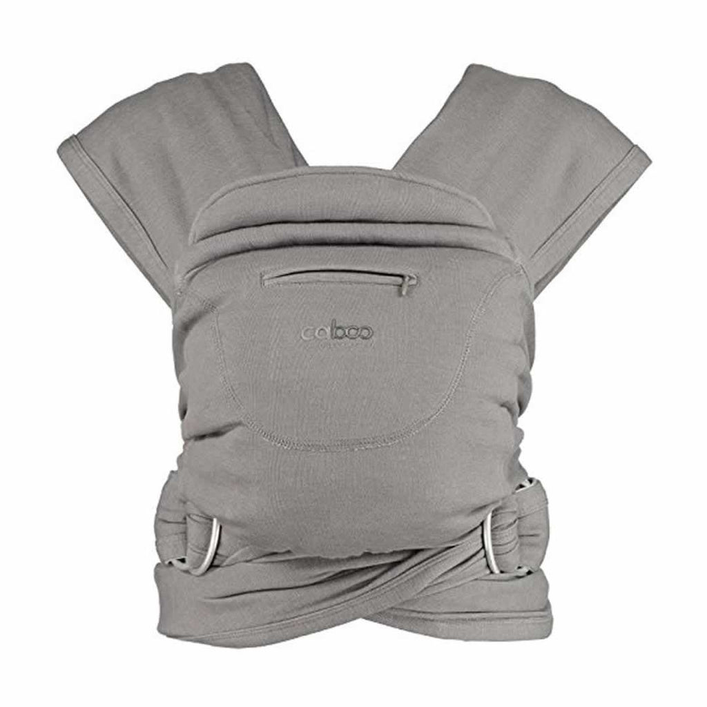 Close Caboo + Organic Blend - Steel Marl - Baby Carriers - Natural Baby Shower