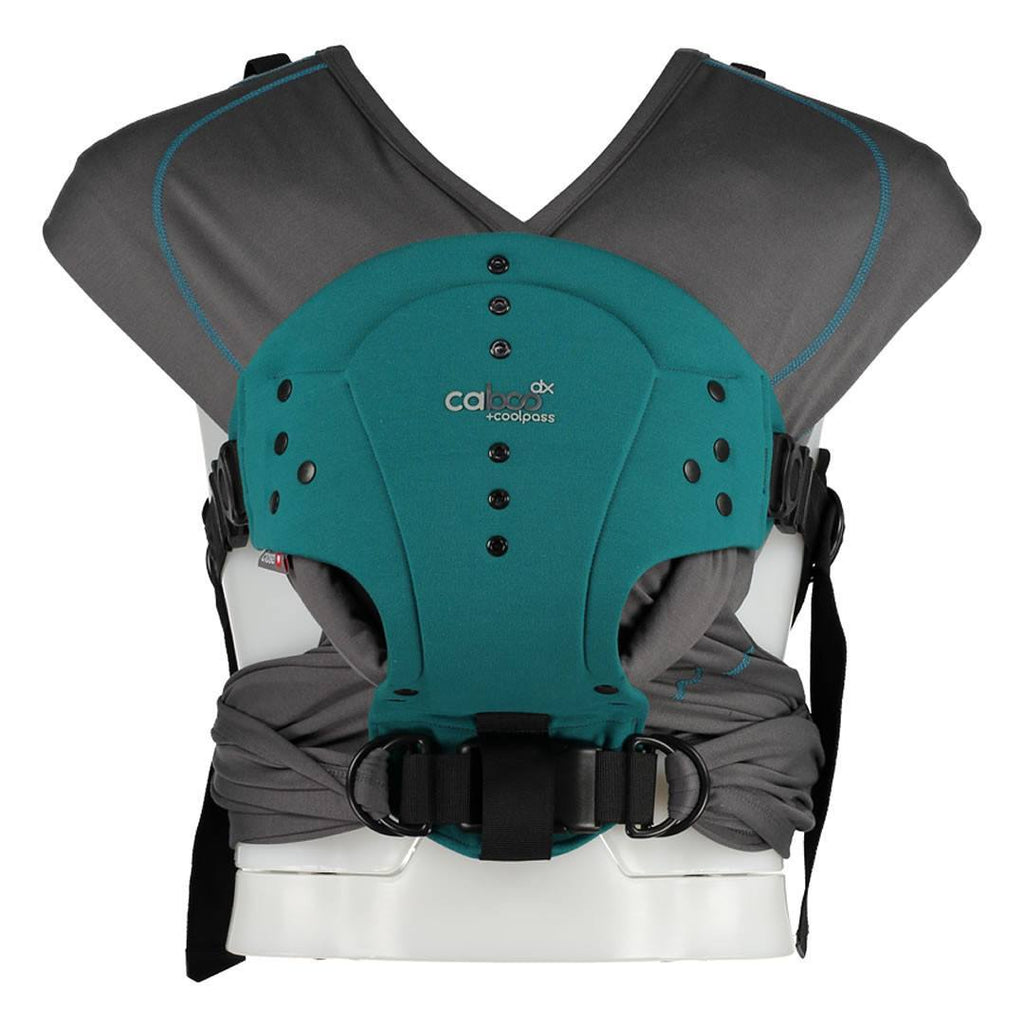Close Caboo DX + Coolpass Carrier - Teal - Baby Carriers - Natural Baby Shower
