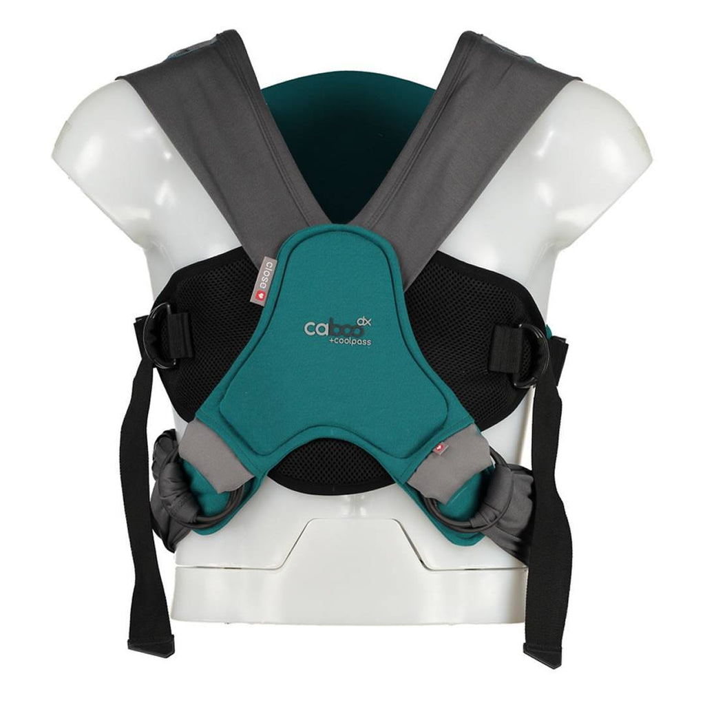Close Caboo DX + Coolpass Carrier - Teal-Baby Carriers-Teal- Natural Baby Shower