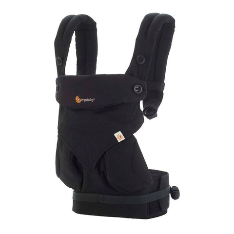 Ergobaby Four Position 360 Carrier - Pure Black - Baby Carriers - Natural Baby Shower
