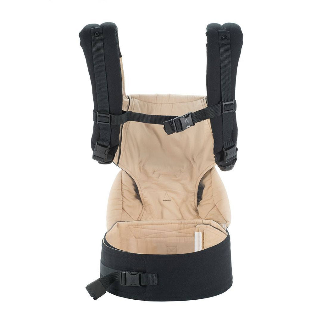 Baby Carriers - Ergobaby Four Position 360 Carrier - Black/Camel