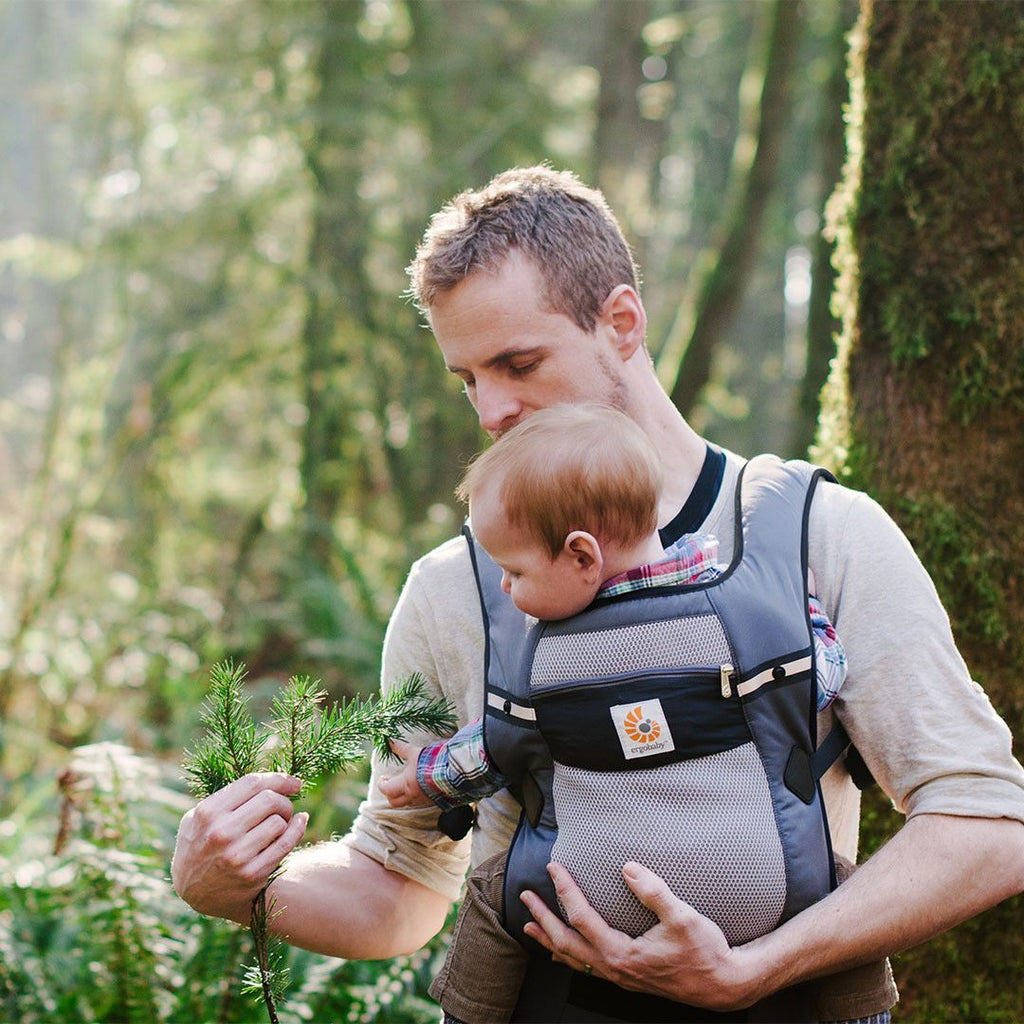 Baby Carriers - Ergobaby Performance Carrier - Ventus Graphite