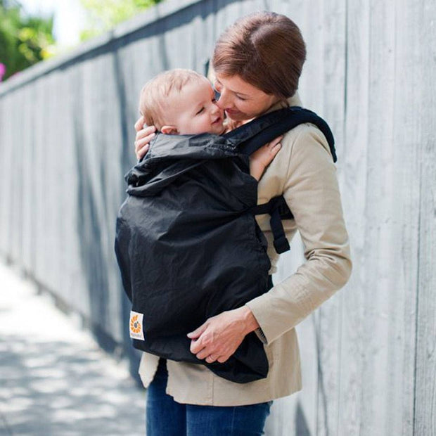 Ergobaby Rain Cover - Black-Baby Carrier Covers-Black- Natural Baby Shower