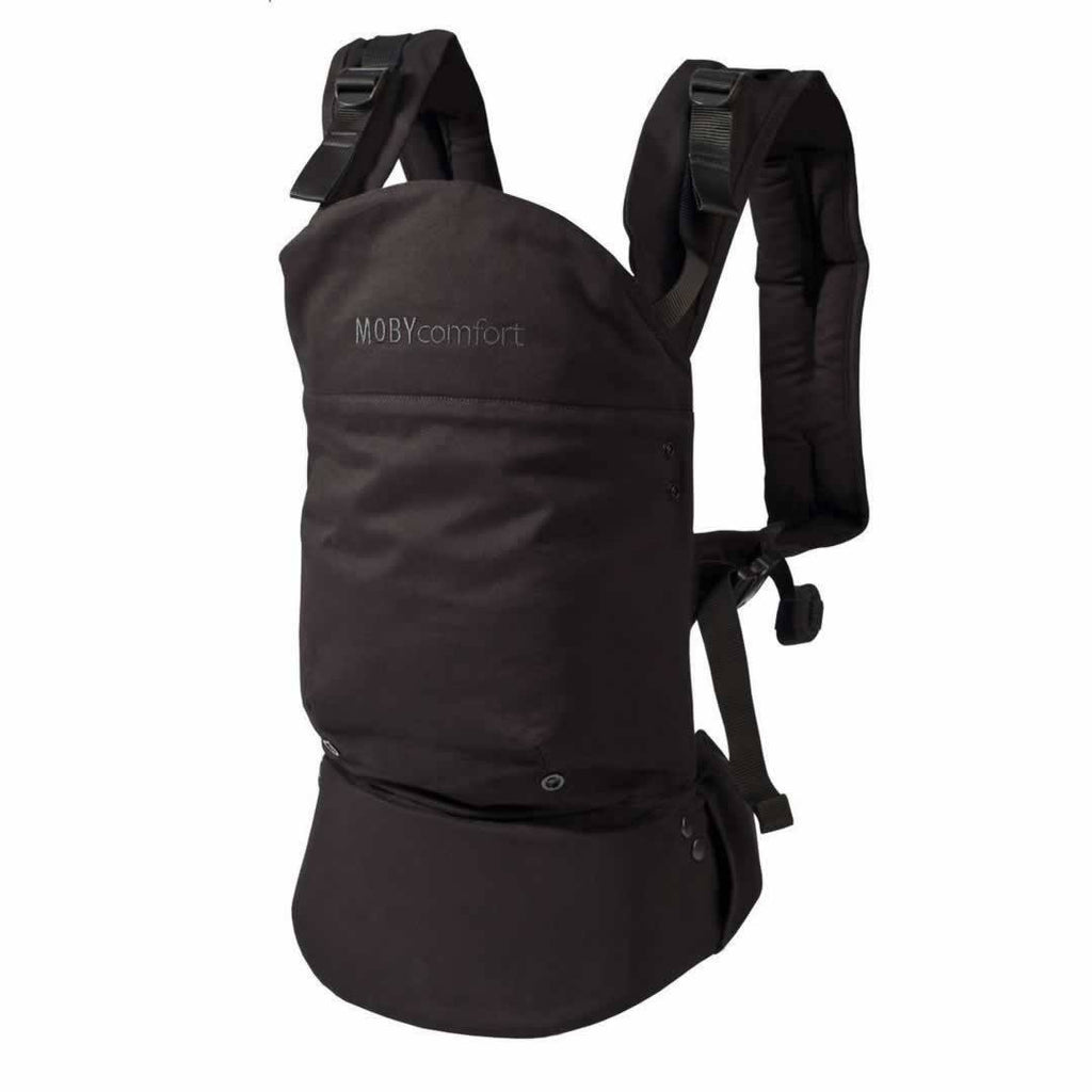 Baby Carriers - Moby Comfort Baby Carrier - Black