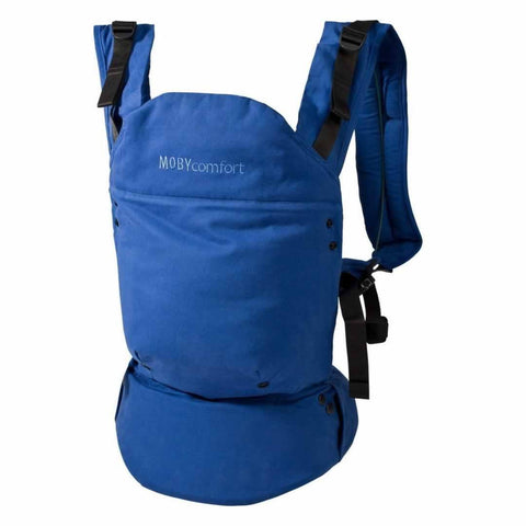 Baby Carriers - Moby Comfort Baby Carrier - Blue