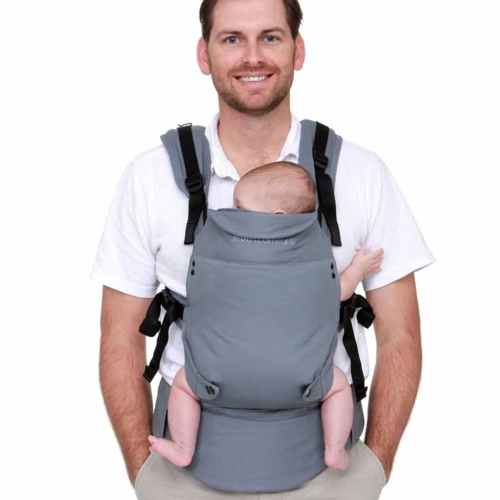 Baby Carriers - Moby Comfort Baby Carrier - Grey