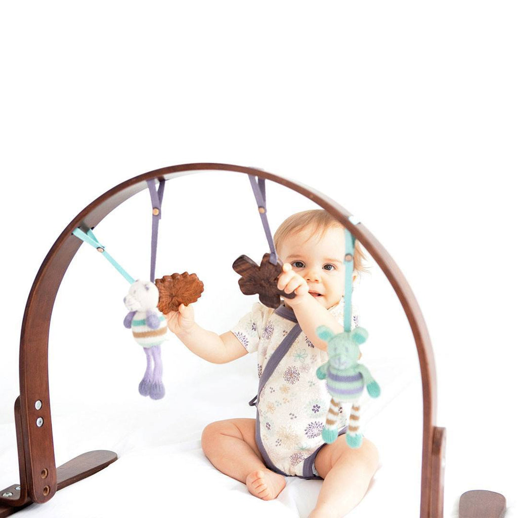 Baby Gyms - Finn + Emma Play Gym - Flower Dark
