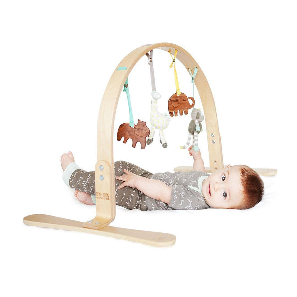 Baby Gyms - Finn + Emma Play Gym - Jungle Birch