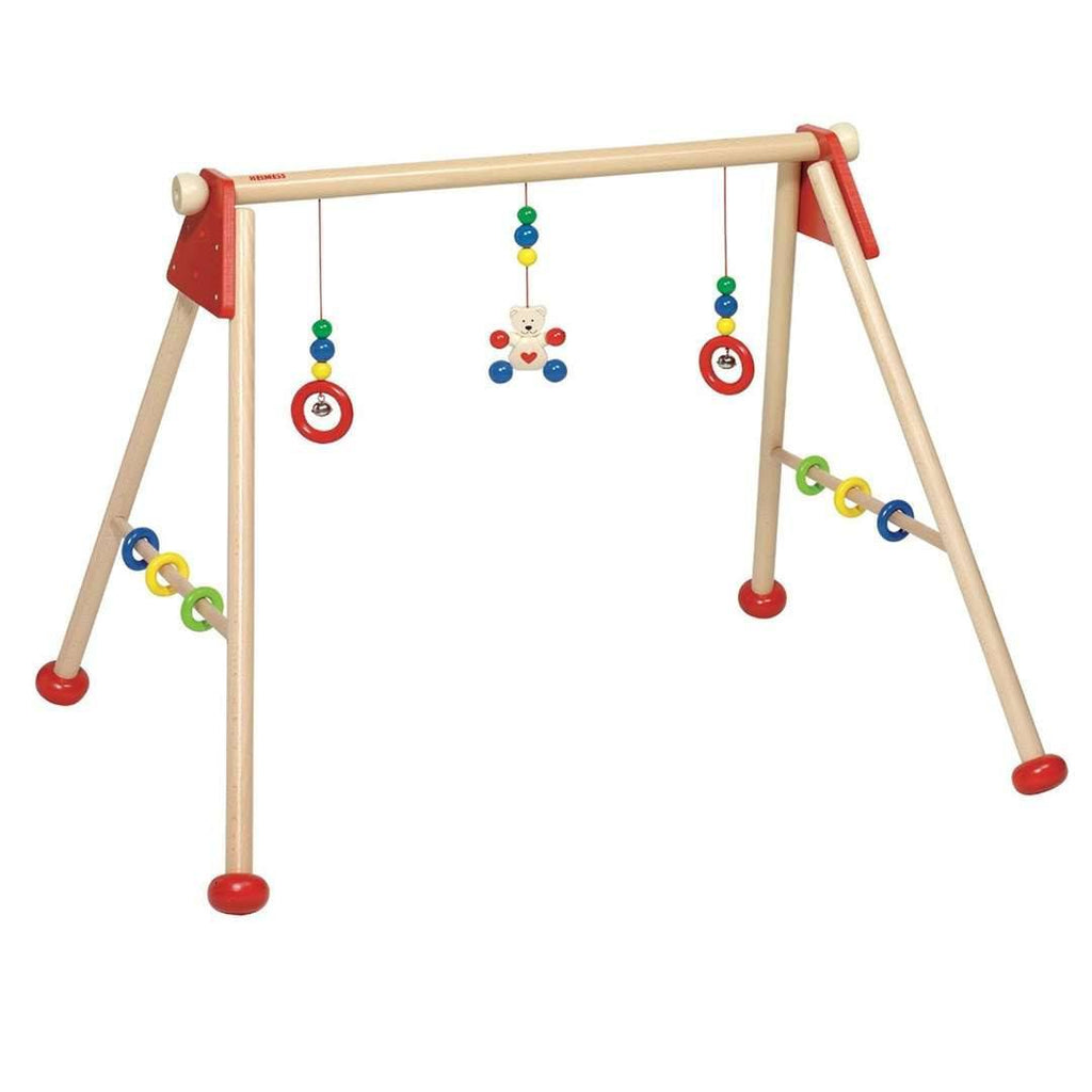 Baby Gyms - Heimess Wooden Baby Gym And Playtrainer - Bear
