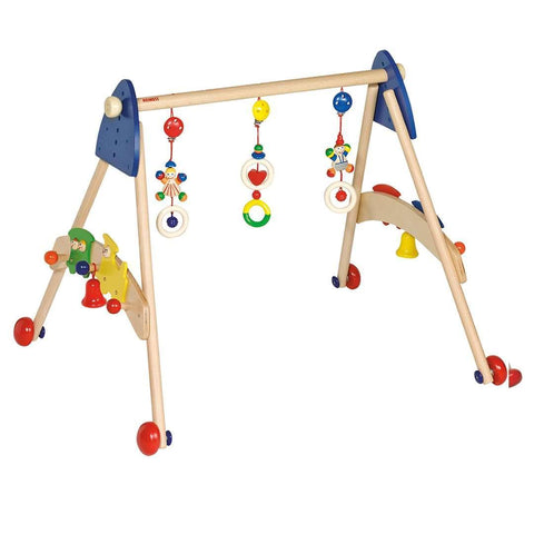 Baby Gyms - Heimess Wooden Baby Gym And Walking Train