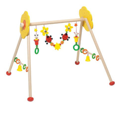 Baby Gyms - Heimess Wooden Baby Gym - Flower