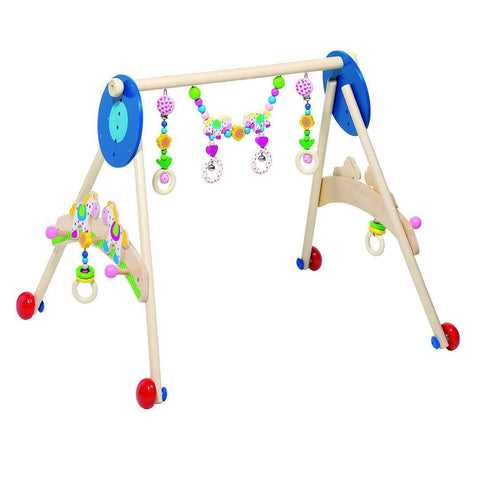 Heimess Wooden Baby Gym - Walking Horse - Baby Gyms - Natural Baby Shower