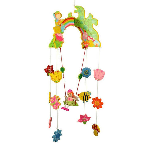 BigJigs Wooden Mobile - Fairy - Baby Mobiles - Natural Baby Shower