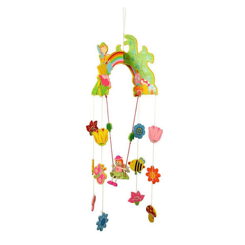 BigJigs Wooden Mobile - Fairy-Baby Mobiles-Default- Natural Baby Shower