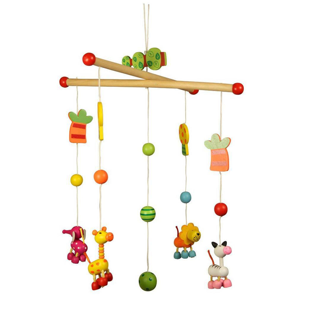 BigJigs Wooden Mobile - Jungle Nature - Baby Mobiles - Natural Baby Shower