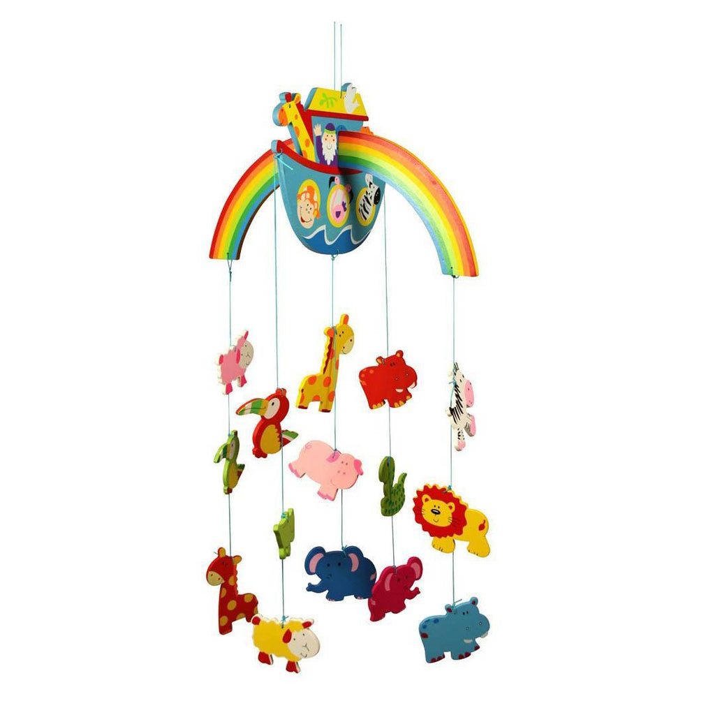 BigJigs Wooden Mobile - Noah's Ark - Baby Mobiles - Natural Baby Shower