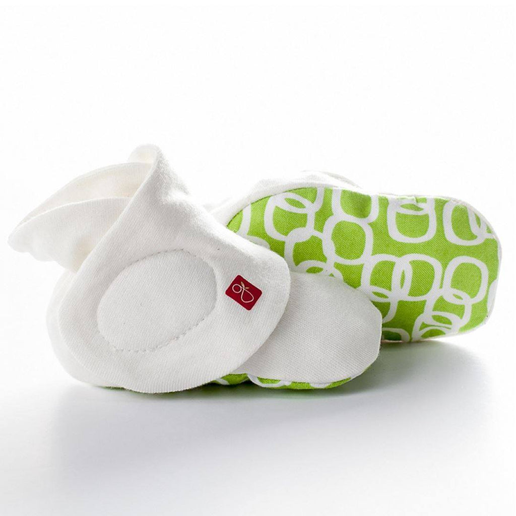 Baby Shoes & Booties - Goumikids Boots - Bubbles Lime