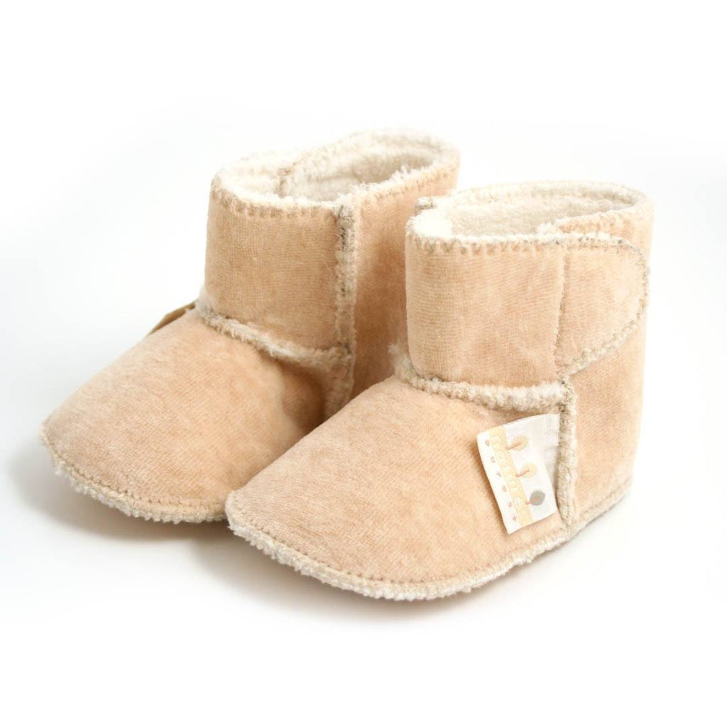 Baby Shoes & Booties - Natures Purest Velour Snuggle Boots