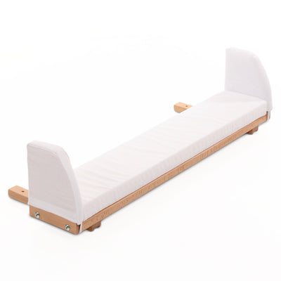 BabyBay Original Extension Panel with Foam Mattress - Varnished Beech-Extension Kits-Default- Natural Baby Shower